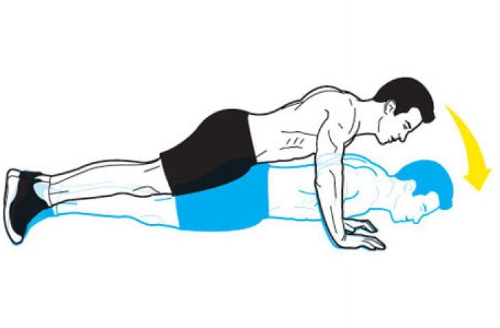 Push Up Mengecilkan perut buncit