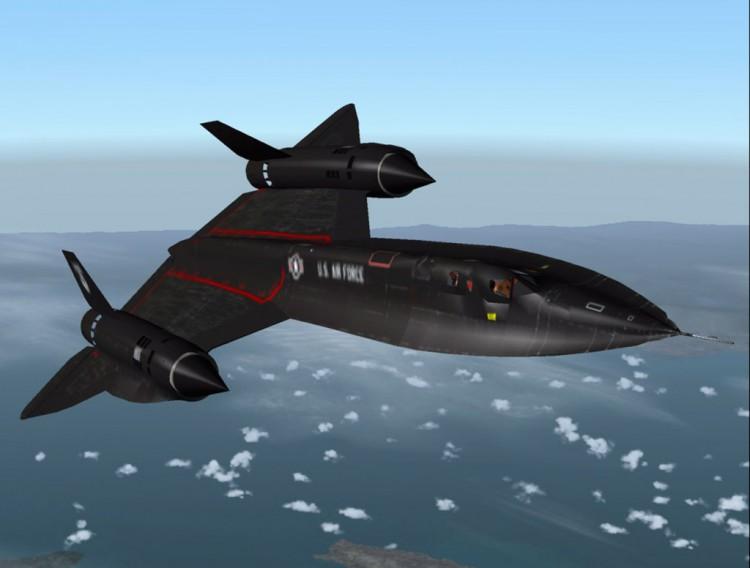 pesawat tempur SR-71 Blackbird