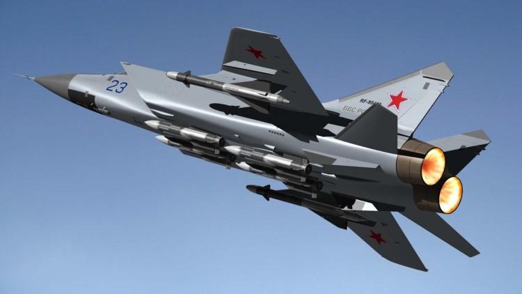 pesawat tempur MiG-31 Foxhound