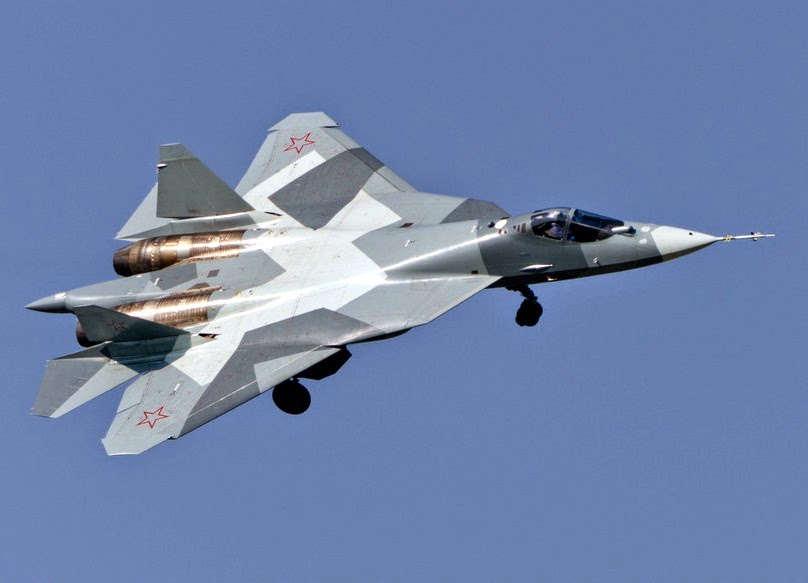 pesawat tempur Sukhoi T-50
