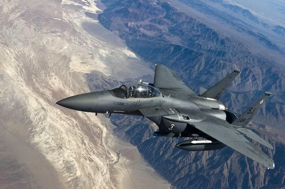 pesawat tempur F-15 Eagle